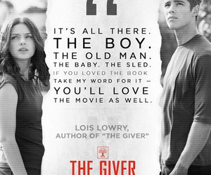 the giver, 2014, and film review image