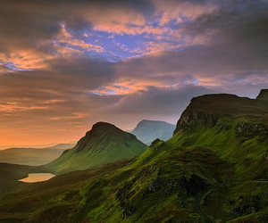 mountains, nature, and scotland image