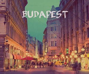 budapest, city, and Europa image