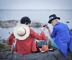 one piece, sabo, and cosplay image