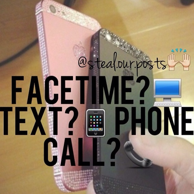 Phone Call Quotes Interesting Facetime💻 Text📱 Phone Call📞 Sharedzariaaaa