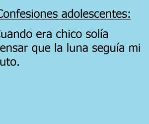 frases, luna, and adolescentes image