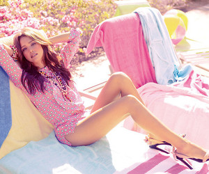 jessica alba, pink, and summer image