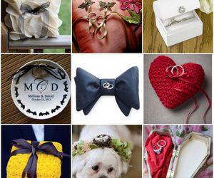 diy, tutorial, and wedding ring pillow image