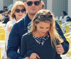 michael buble and luisana lopilato image