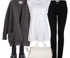 autumn, sweater, and Polyvore image