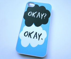 case, phone, and the fault in our stars image