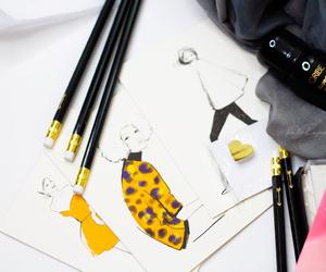 art, designer, and fashion image