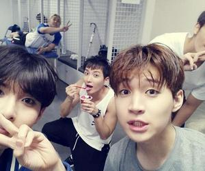 donghae, henry, and ryeowook image