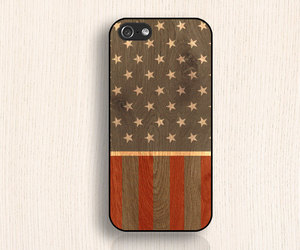 stars and stripes, iphone 4 case, and iphone 4s case image