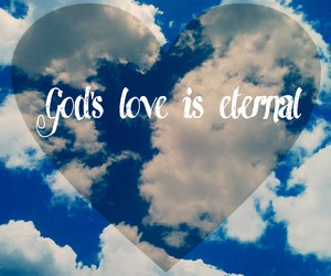 eternal, god, and heart image