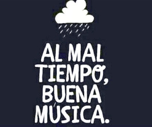 music, frases, and weather image