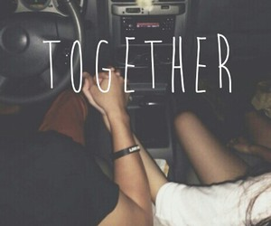 always, together, and hands image