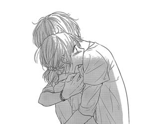hug, anime, and manga image