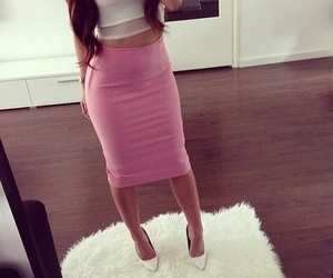 chic, skirts, and fashion image