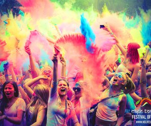 party, fun, and colors image