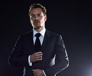 michael fassbender and suit image