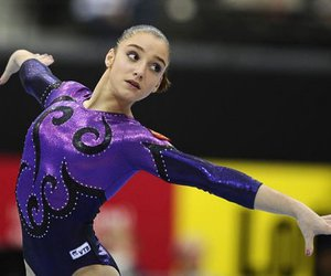 gymnastics, mustafina, and aliya image