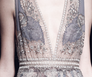 dress, Couture, and details image