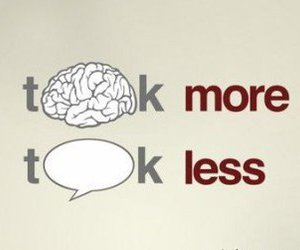 talk and think image