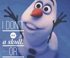 frozen, snowman, and funny image