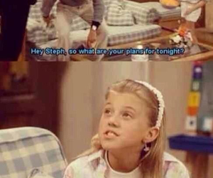 full house, funny, and stephanie tanner image