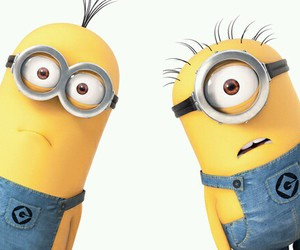 minions, movie, and cute image