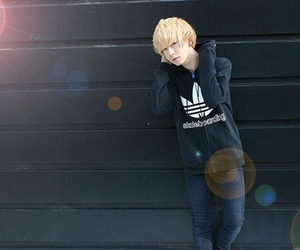 blonde, boy, and cool image