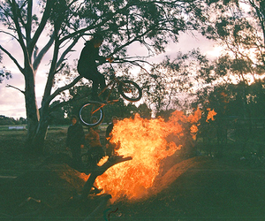 boy, fire, and simple plan image