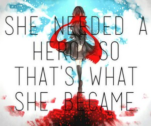 anime, red, and ayano image