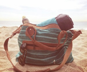 bag, fun, and beach image
