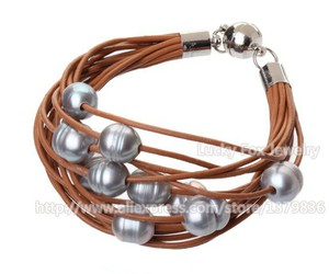 pearl jewelry, lovely bracelet, and pearl brACELET image