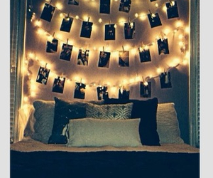 bedrooms, diy, and christmaslights image
