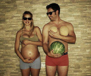 couple, couples, and pregnant image