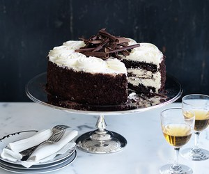 black forest, chocolate, and mousse image