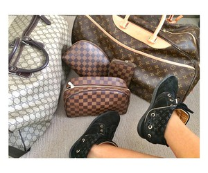 bags, Damier, and Louis Vuitton image