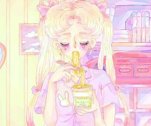 anime, sailor moon, and kawaii image