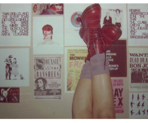 doc martens, bowie, and dr martens image