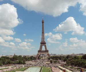 adventure, Dream, and effiel tower image