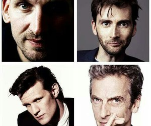 david tennant, doctor who, and matt smith image