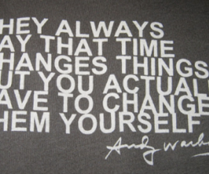 andy warhol and quotes image