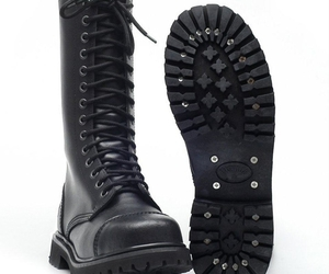combat boots fashion, best army combat boots, and mens black combat boots image