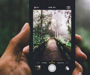 iphone, nature, and photography image