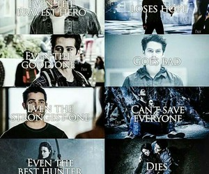 teen wolf, derek hale, and stiles stilinski image