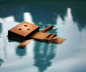 danbo and water image