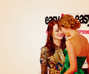 emma stone, premiere, and Taylor Swift image