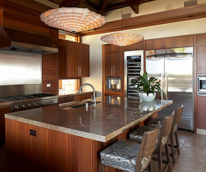 hawaii, house, and kitchen image
