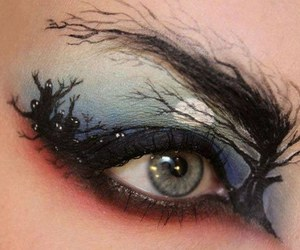 Halloween, eye, and makeup image