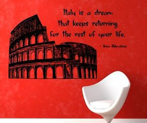 colosseum, italy, and quote image
