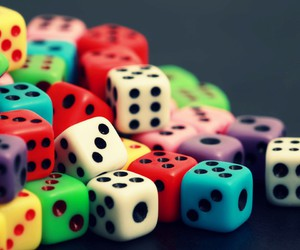 dice and wallpaper image